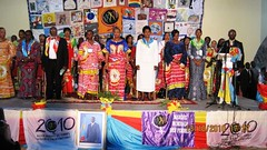 Opening ceremony of the World March of Women in the Bukavu, DRC