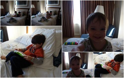 Shug and Shugie Having Fun at Loew's Hotel, New Orleans LA