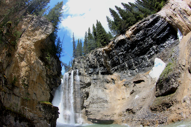 Johnston Canyon Upper Falls