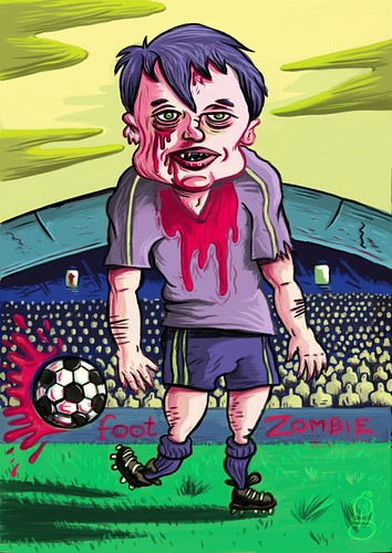 Foot Zombie - Illustration de Gilderic