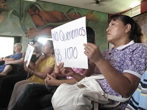 Solidarity protest in San Juan against SB1070
