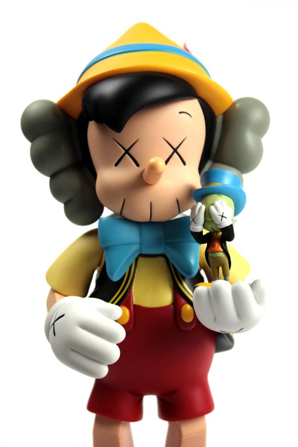 Kaws x Pinocchio & Jiminy