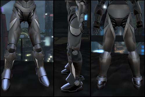 Male Warrior AV - legs
