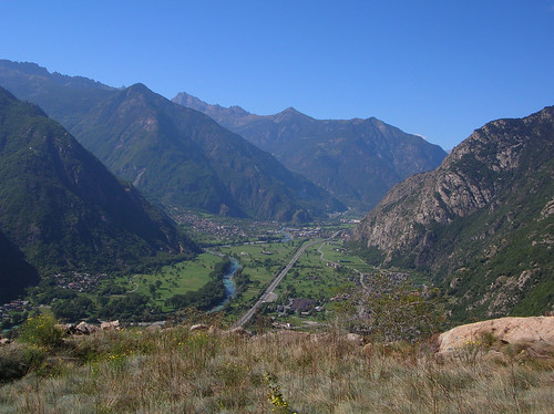 Val d'Aosta dalla Corma di Machaby