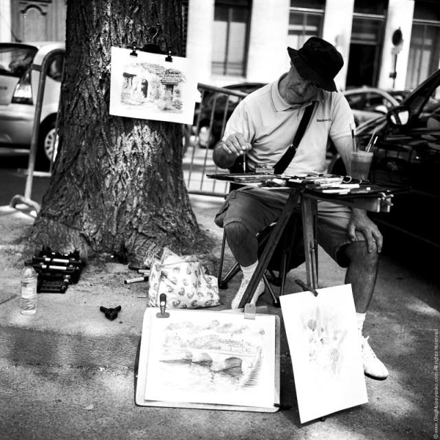 Street Artist, Paris