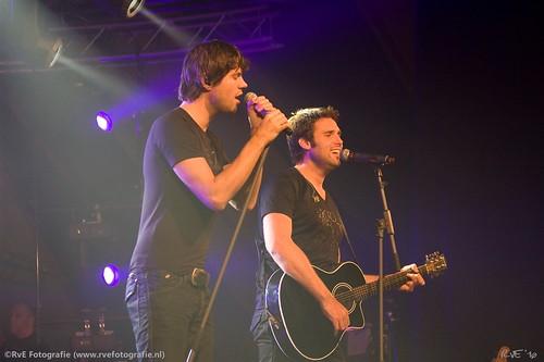 Nick&Simon op Berghuisfestival in Kampen (01-10-2010).