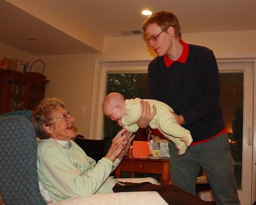 Grandmom & Lily