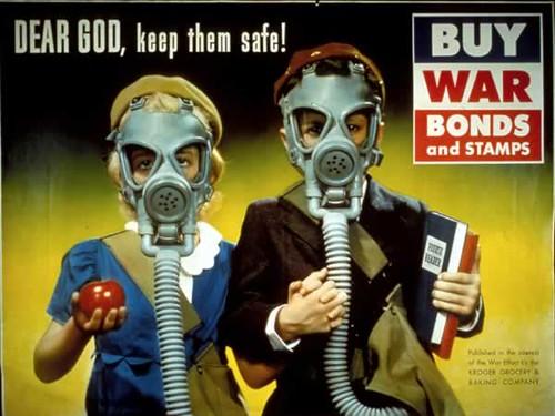 WW2 Poster Dear God Keep Them Safe
