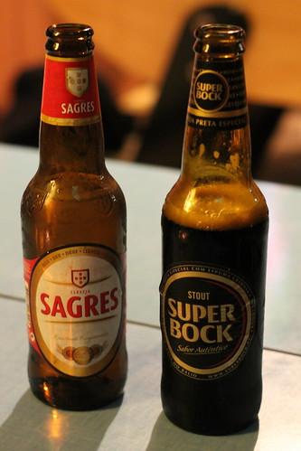 Sagres vs Super Bock