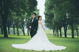 Pre-Wedding [ 中部婚紗 – 森林草原系列海邊 ] 婚紗影像 20160811 - 14