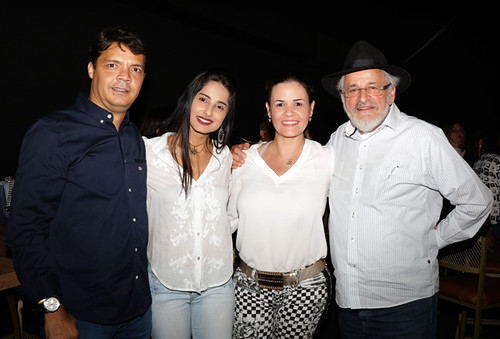 Eduardo Figueredo Rocha, Kryslainne Teixeira,  Crislian e Sebastião Quintão