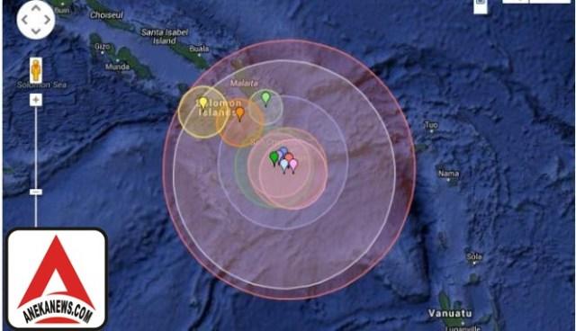 #Terkini: Gempa 7,1 SR Guncang Sulawesi Utara