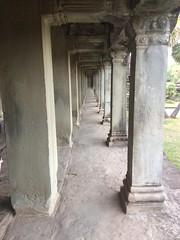 Hallway at Angkor Wat