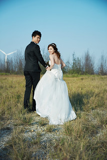 Pre-Wedding [ 中部婚紗 - 海邊婚紗 ] 婚紗影像 20160118 - 133拷貝