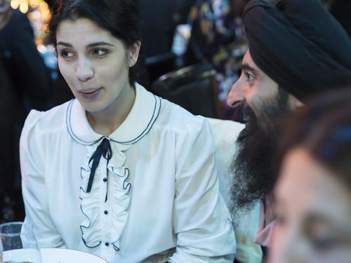 Nadya Tolokonnikova and Waris Ahluwalia