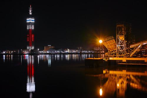 秋田港 Port of Akita