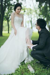 Pre-Wedding [ 中部婚紗 – 森林草原系列海邊 ] 婚紗影像 20160811 - 8