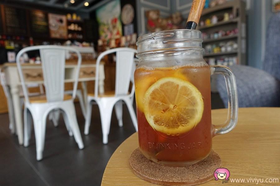 [桃園.美食]Max & Corrine coffee~桃園市政府附近.美式鄉村風格餐廳.適合下午茶或情侶約會(關門大吉) @VIVIYU小世界