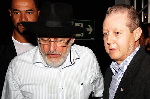 Secretário Carlão, Sebastião Quintão e José Maria Facundes - Foto Wolmer Ezequiel