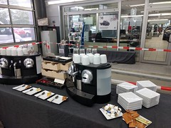 """#HummerCatering #Event #Catering #Service hier beim #Unternehmerfrühstück in #Pulheim. Wo wir eigens für das #Event ein ganzes #Cafe mit #Backstation, #Kaffee #Catering mit unserer #Siebträger #Kaffeemaschine und 2 Nespresso #Pro #Vollautomaten, #Softgetr • <a style=""""font-size:0.8em;"""" href=""""http://www.flickr.com/photos/69233503@N08/33425409524/"""" target=""""_blank"""">View on Flickr</a>"""