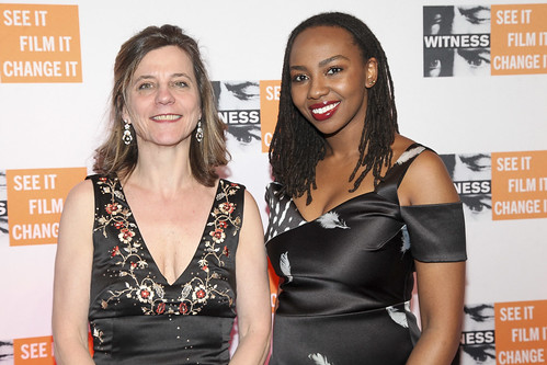 Yvette Alberdingk Thijm with Honoree Opal Tometi