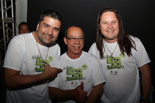 Relber, Amador e Allan - Foto Wolmer Ezequiel