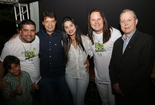 Relber, Eduardo Figueredo, Kryslaine Teixeira, Allan e José Maria Facundes - Foto Wolmer Ezequiel