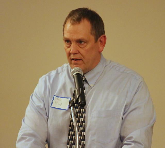 MWCA Hall of Fame Chair Steve Ricard.