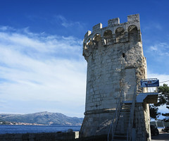 Korcula towers