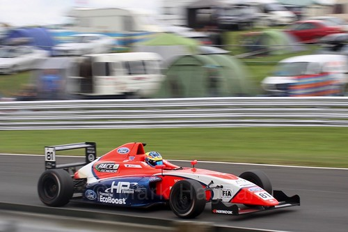 Oscar Piastri in British Formula Four at Oulton Park, May 2017