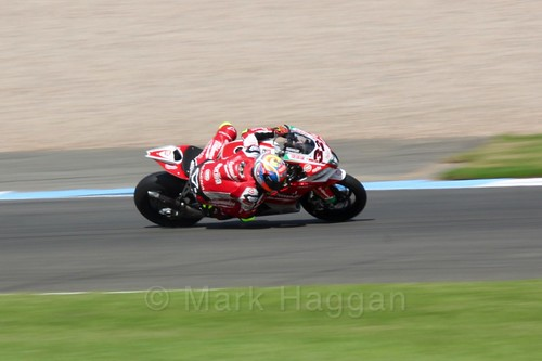 Lorenzo Savadori in World Superbikes at Donington Park, May 2017