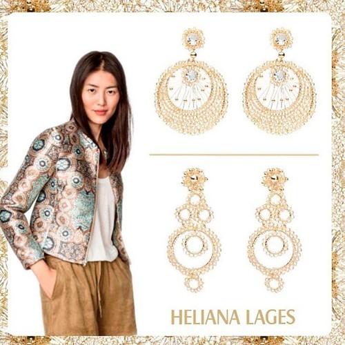 jóias em crochê da Heliana Lages