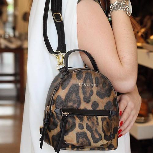 forma fofa de usar a mochila