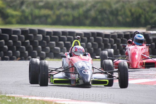Jack Wolfenden in the Formula Ford FF1600 championship at Kirkistown, June 2017