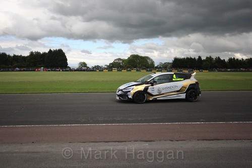 Jack McCarthy in the Renault Clio Cup during the BTCC weekend at Croft, June 2017