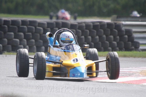 Ryan Campbell in the Formula Ford FF1600 championship at Kirkistown, June 2017