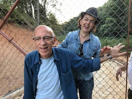 Alegria de Mauro e Cassinha, amigos desde sempre