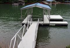 Side Slip / PWC Slip Gable Roof Docks