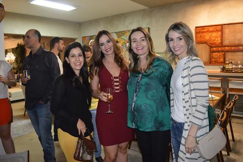 As arquitetas Paula Cardi, Laura Lage, Danielly Garcia e Andrea Gratival