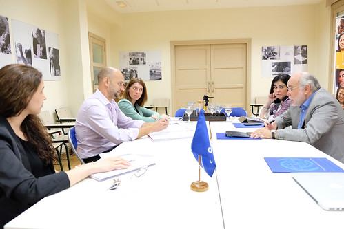 Reunión con la Organización Internacional para las Migraciones (26-05-2017)