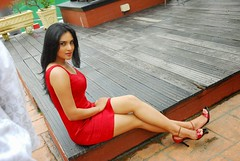 Indian Actress Ramya Hot Sexy Images Set-2  (87)