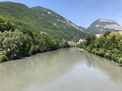 L'Isère - Grenoble Ile Verte