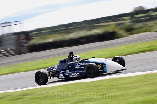 Jamie Thorburn in the Formula Ford FF1600 championship at Kirkistown, June 2017
