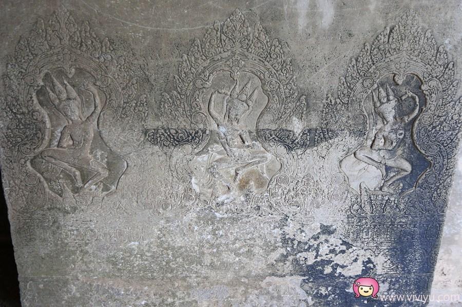 [柬埔寨.景點]吳哥窟必訪景點.小吳哥窟~護城河水上都市.修築三十餘年才完成 @VIVIYU小世界