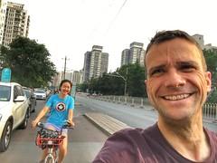 Fooling around in Beijing :)