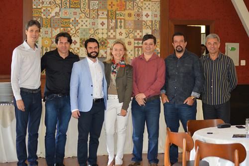 Cláudio Zambaldi, Wander, Ronan Machado, Raquel de Carvalho, Luís Henrique Alves, Marco Túlio Lamounier e José Carlos Alvarenga