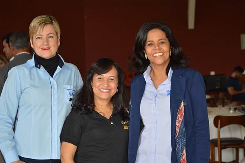 Daniela Sírio, Soraya Rolla e Tânia Carvalho