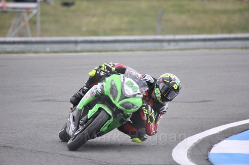 Asrın Rodi Pak in World Supersport 300 at Donington Park, May 2017