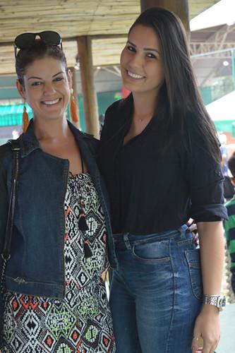 Melyssa Monteiro e Fernanda Basso, do Centro de Estética Bella Mulher