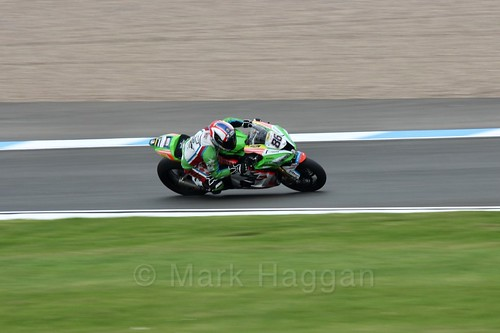 Ayrton Badovini in World Superbikes at Donington Park, May 2017